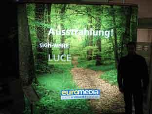 Colormy mit Euromedia & Sign-Ware Produkten an der EuroShop