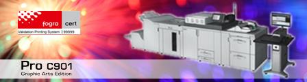 Fogra-Zertifizierung für Farbdrucksystem von Ricoh