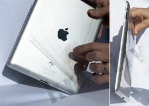 Apple iPad2 Schutzfolie entfernen