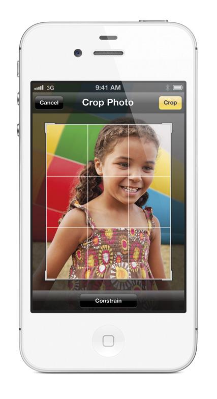 iPhone4S Kamera App mit vielen neuen Funktionen
