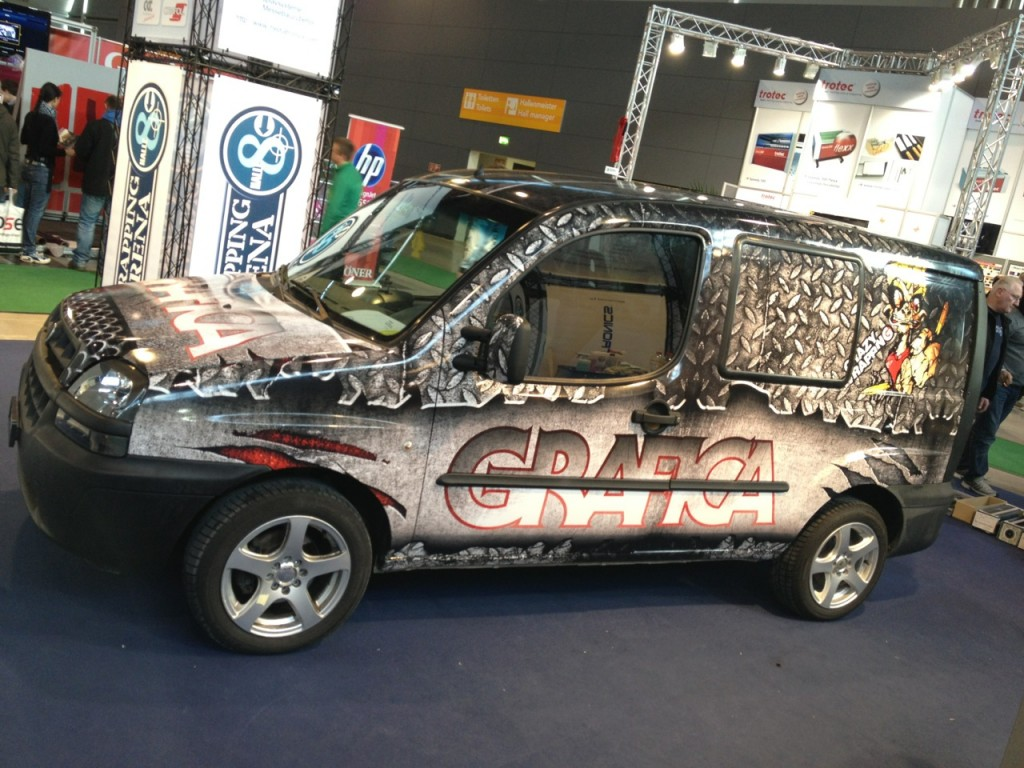 Car Wrapping Design Wettbewerb, wetec 2012