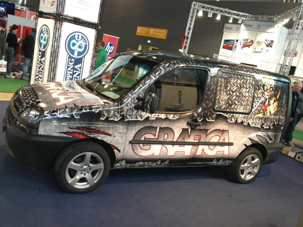 Schweizer gewinnen Car Wrapping Design Contest an der wetec