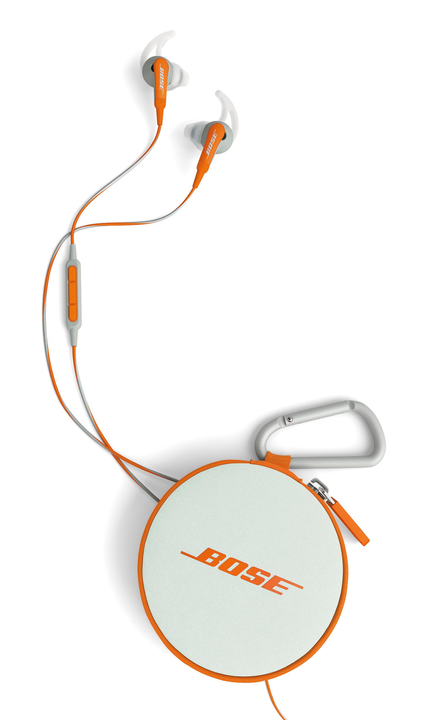 Bose: neue SoundTrue und SoundSport In-Ear Headphones