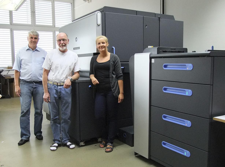 AWZ St. Gallen setzt auf bewährte HP Indigo Technologie