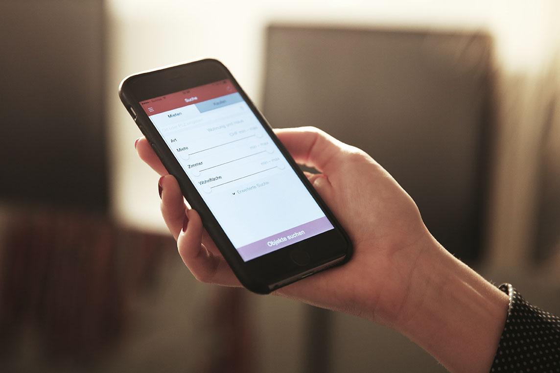 homegate.ch – Mit dem iPhone inserieren