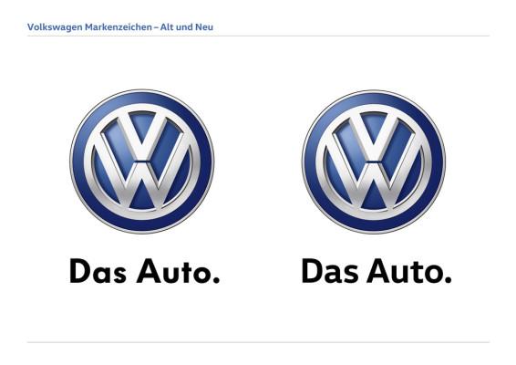 VW Head und VW Text: Die neue Markenschrift von Volkswagen