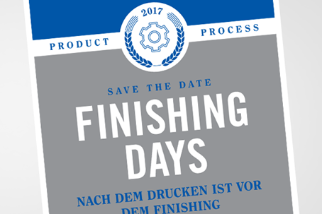 Schweizer Premiere – Finishing Days 2017
