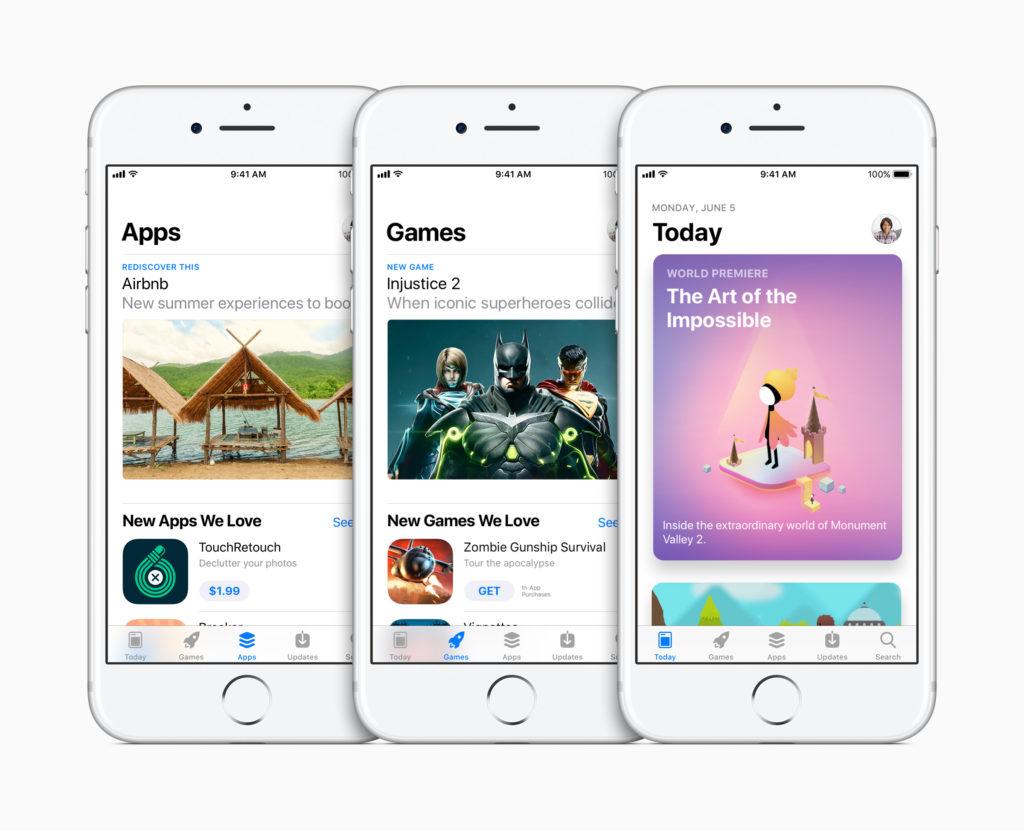 Apple stellt völlig neuen App Store vor