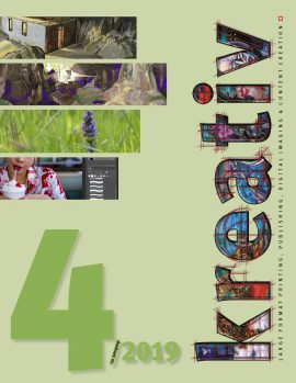 Fachzeitschrift 3D, Large Format Print, Wide Format, Copy shop, screen print, Siebdruck