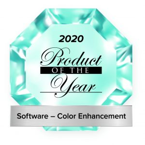 GMG ColorCard Product of the year 2020 Software Color Enhancement